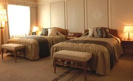西鉄グランドホテル エンパイア・スイート ベッドルーム